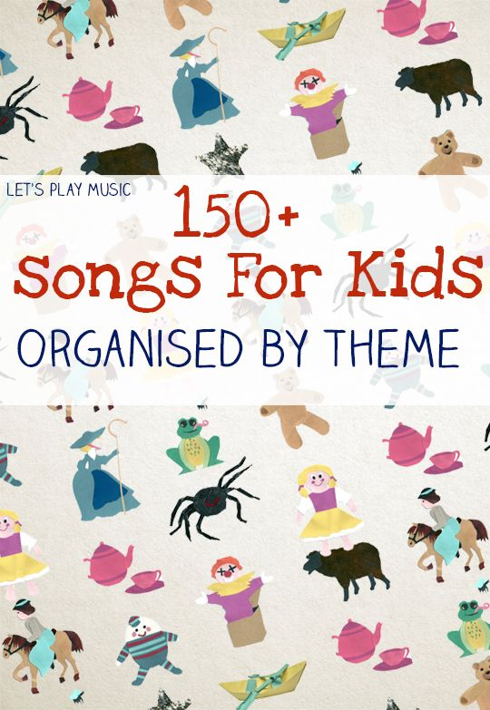 150 songs sorted by themes in Let's Play Music