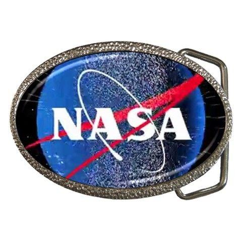 Nasa Logo Belt Buckle
