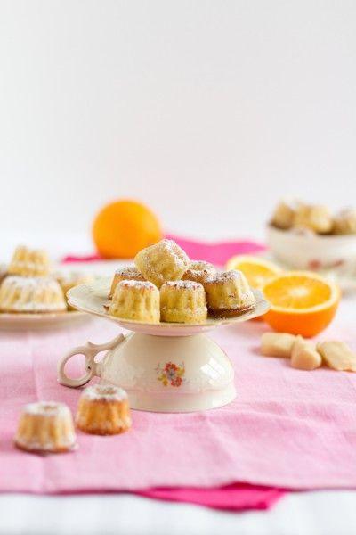 Mini Gugl mit Marzipan & Orange I Mini Bundt Cake with Marzipan & Orange I haseimglueck.de