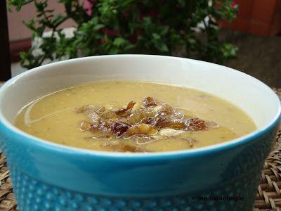 MİNE TOZANLIOĞLU: Karamelize Soğanlı Mercimek Çorbası