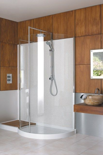 Soft Curves Shower Screen And Bathroom Designs