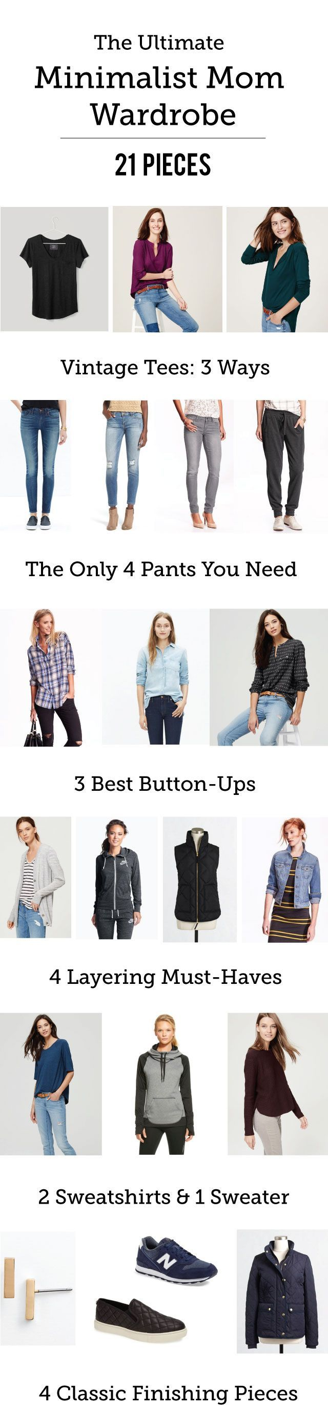 I don't do a lot of fashion posts, especially centered on sales, simply because they usually don't have a lot of longevity. This one is different. In the spirit of the capsule wardrobe movement, I present to you the perfect Minimalist Mom Wardrobe, in only 21 pieces. Every piece here is a proven winner– that …