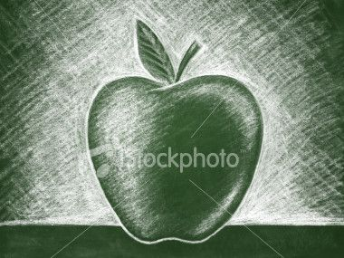 Back to School Chalkboard Illustration Royalty Free Stock Vector Art Illustration