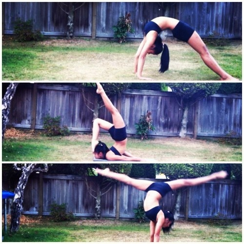 Gymnastics Poses, Dance Poses And Middle On Pinterest