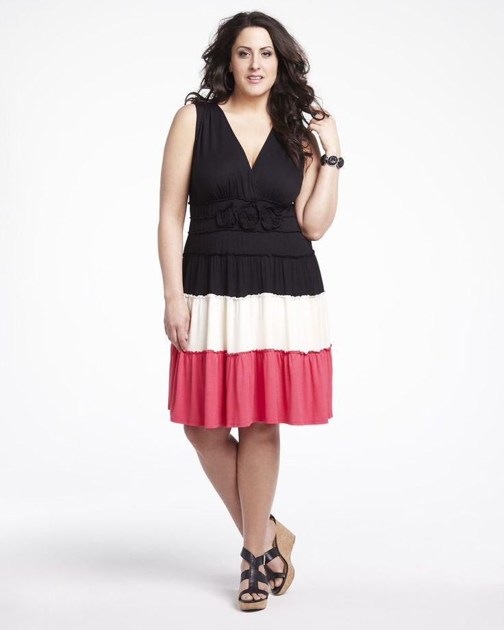 color block dress/additionelle