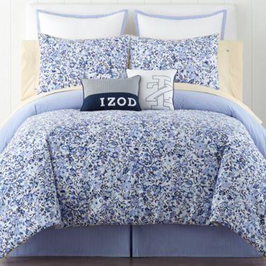 Izod 174 Pacific Comforter Set Amp Accessories Found At