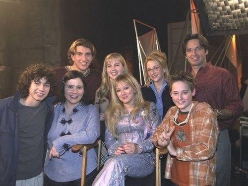 The Lizzie McGuire Movie cast. <3