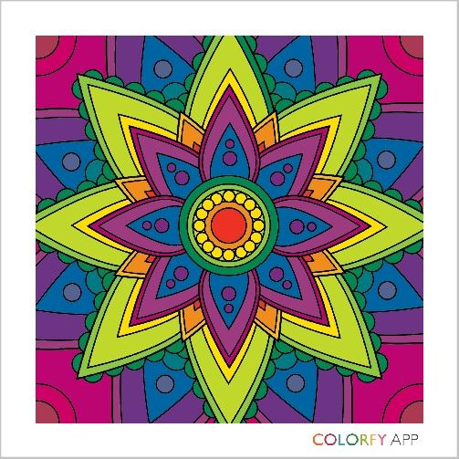 34 Best Colorfy Coloring App Images On Pinterest