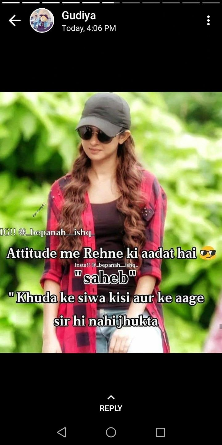 Sk Naaz Woman quotes, Girly attitude quotes, Girl attitude