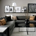 Traditional House with Modern Style Design: Modern Black and Grey Living Room Inspirations – Architecture Design Ideas