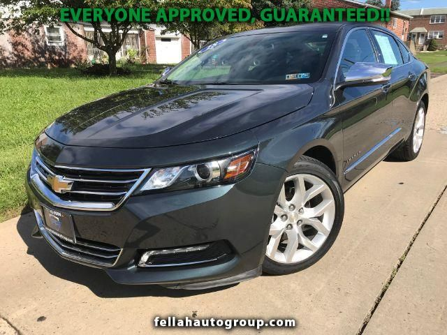 Used 2018 Chevrolet Impala Premier For Sale In Ne Philadelphia Pa 19111 Fellah Auto Group Cottman I Work With All Credit Corey Certified Used Cars Used Cars Chevrolet Impala