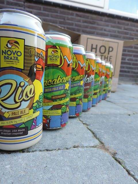 Fifty Shades Of Men: Rio American Pale Ale van Novo Brazil Brewing uit ...