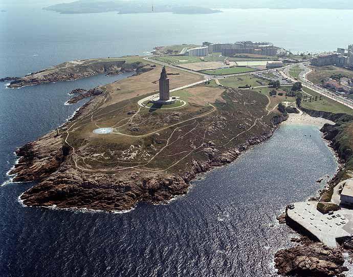 10.Torre de Hércules. A Coruña. Galicia.Spain.