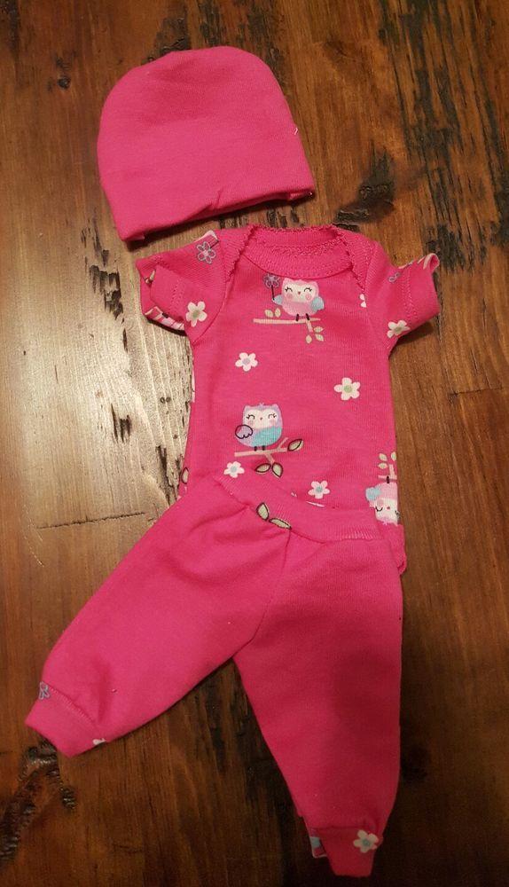 "Handmade OOAK Reborn Baby Doll Ashton Drake micro preemie clothes 10"" berenguer   | eBay"