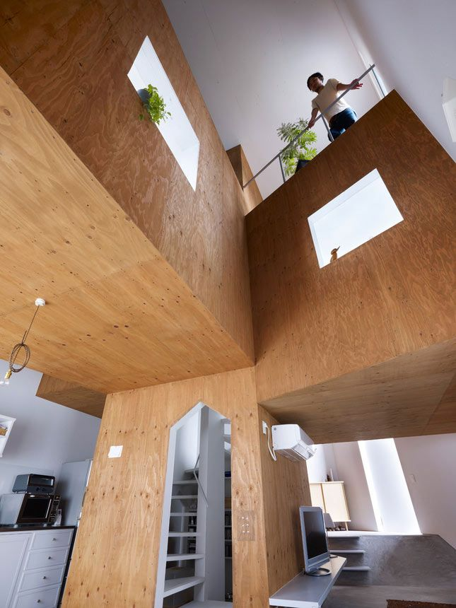 : Offices House, Suppo Design, Architecture Interiors, Interiors Design, Japan House, Cool Architecture, Architecture Ideas, Japan Architecture, Design Offices