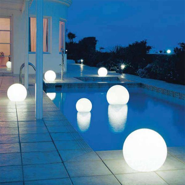 Yep if I had this pool, I would need the globes...very cool