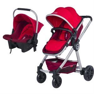 Baby2Go Power Deluxe Travel Sistem Kırmızı 2016