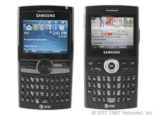 The Samsung Blackjack II.
