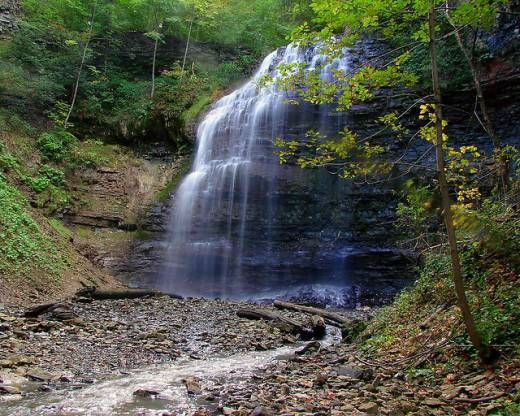 """DAY TRIPs Near Me"" - web - (Tiffany Falls, Hamilton on - about 45km from Kitchener)"