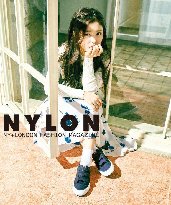 Kim Yoo Jung is an adorable spring gal for 'Nylon' | allkpop.com