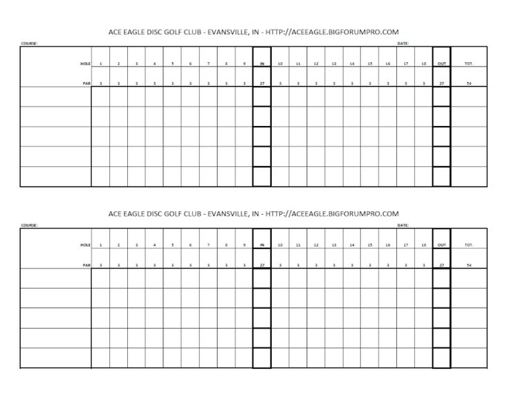 Witty image within golf score sheets printable