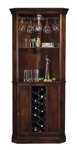 Corner cabinet that is also a wine rack.  NEED this.