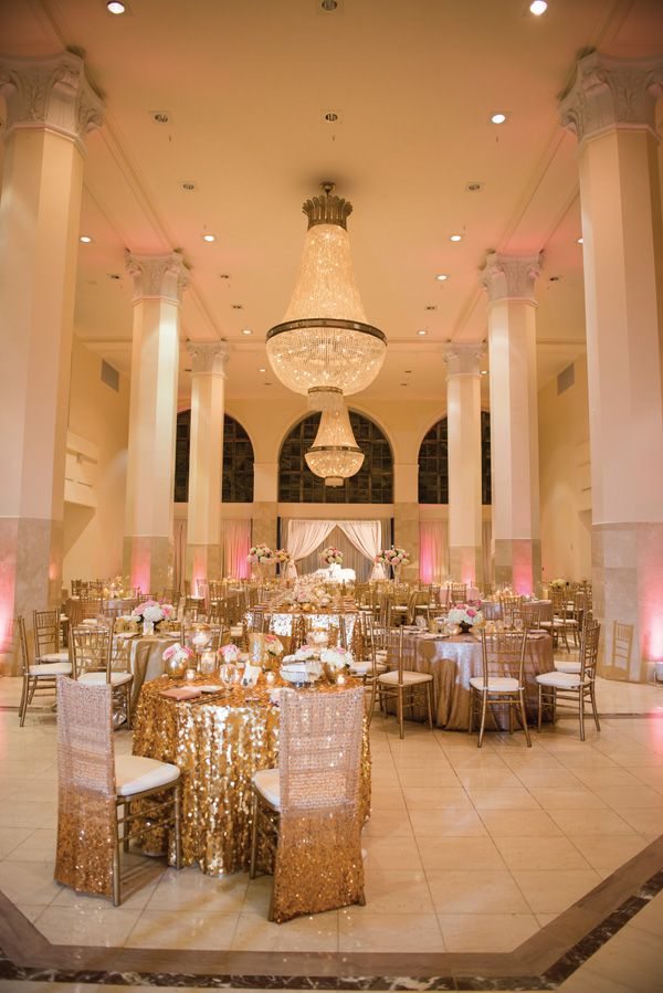 Munaluchi Bride Magazine | Nigerian African American Wedding | Real Weddings | Gold Wedding