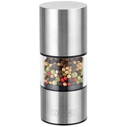 Oferta: 7.8€ Dto: -54%. Comprar Ofertas de GOURMEO molinillo de especias | con 2 años garantia de satisfacción | molinillo de pimienta, molinillo de sal con cristal acr barato. ¡Mira las ofertas!