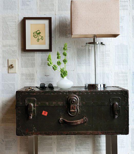 les 45 meilleures images du tableau vieux coffres restaur s sur pinterest malles vintage. Black Bedroom Furniture Sets. Home Design Ideas