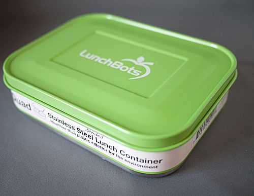 Stainless steel Bento Box...totally plastic free...no leaking toxins into your food!  I want one for each of us...8 total!