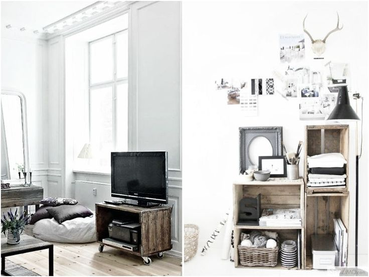 How To Style: Wooden Crates