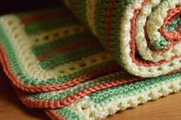 Ravelry: Elegant Squares Baby Blanket pattern by Casey Smith