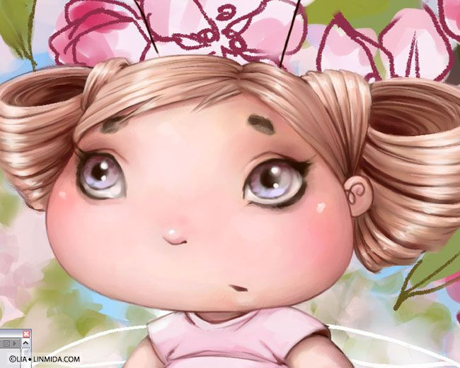 Apple Blossom Fairy-Bug WIP