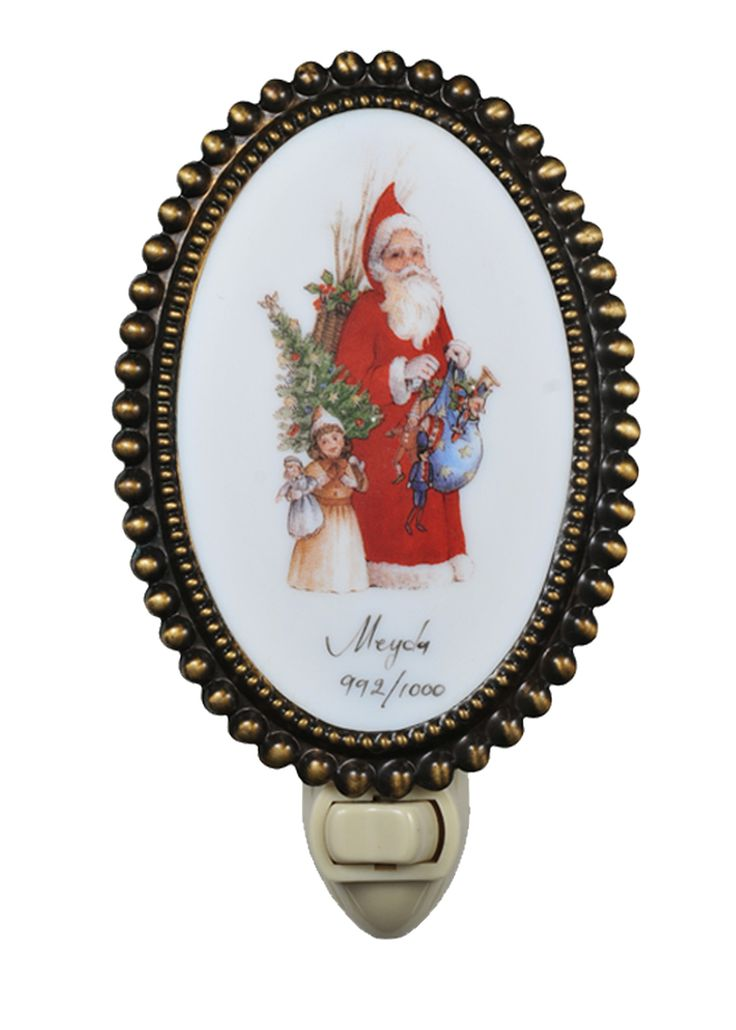 "3.5 Inch W Christmas For The Love Of Santa Fused Oval Night Light - 3.5 Inch W Christmas For The Love Of Santa Fused Oval Night Light Theme: VICTORIAN Religious HOLIDAY Product Family: Christmas For the Love of Santa Product Type: NOVELTY LAMPS AND ACCESSORIES Product Application: Color: FOR THE LOVE OF SANTA Bulb Type: NL Bulb Quantity: 1 Bulb Wattage: 4 Product Dimensions: 6""H x 3.5""WPackage Dimensions: NABoxed Weight: lbsDim Weight: 2 lbsOversized Shipping Reference: NAIMPORTANT NOTE…"