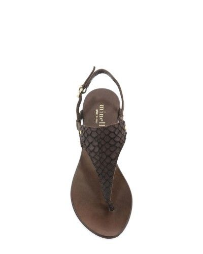 Soldes - Soldes - Soldes chaussures Femme - Plagette - Nalion - Marron