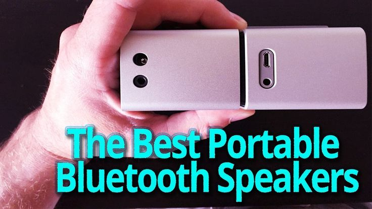 3 Best Portable Bluetooth Speakers 2017 https://youtu.be/a4JIjHbOLPY