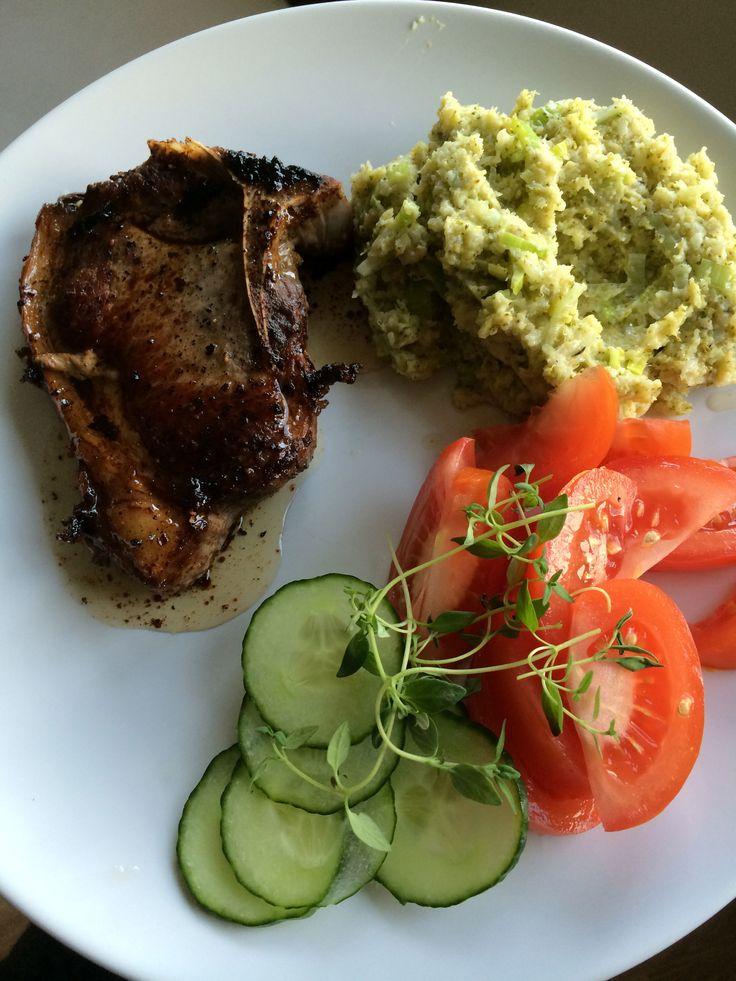 Enkel oversikt over lavkarbo frokost, lunch og middag for en hel uke.