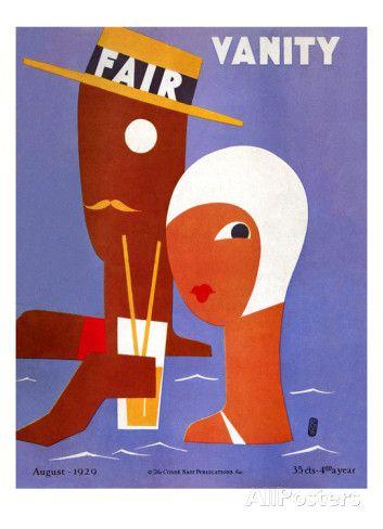 Vanity Fair Cover - August 1929 Eduardo Garcia Benito