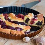 Recept na Slivkový točený koláč