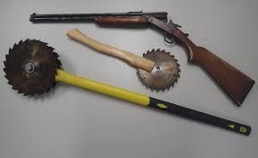Image result for homemade weapons