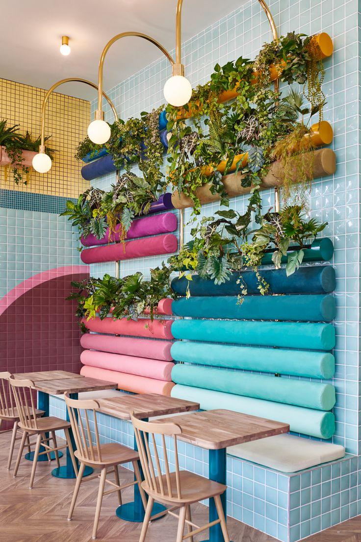 93 best CAFÈ & RESTAURANTS images on Pinterest | Sketch london ...