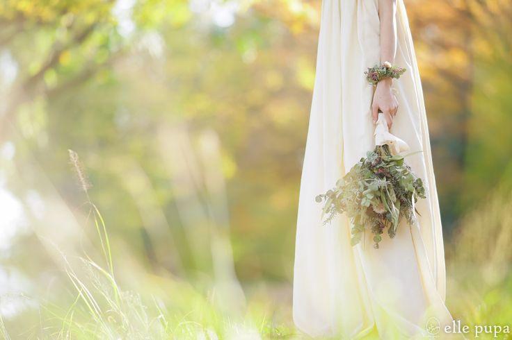 秋の散歩道*おしゃれドレスと撮影   *elle pupa blog*