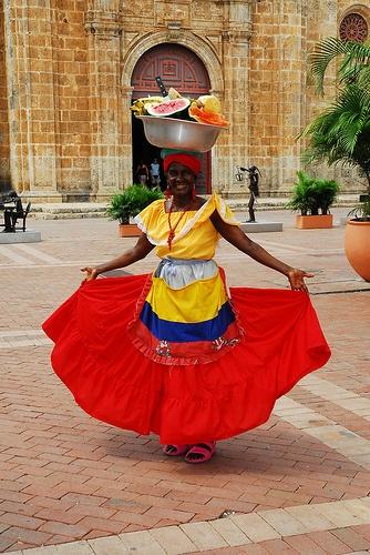 Palenquera de Cartagena!