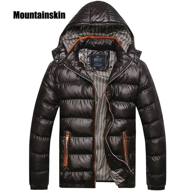 Fair price Mountainskin Solid Hooded Men's Winter Jackets Casual Parkas Men Coats Thick Thermal Shiny Coats Slim Fit Brand Clothing SA045 just only $24.63 with free shipping worldwide  #jacketscoatsformen Plese click on picture to see our special price for you
