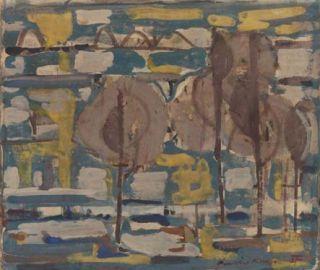 My Favourite Ian Fairweather Painting.  Pumicestone Passage 1957.  Saw the exhibition at Queensland Art Gallery  qagoma.qld.gov.au