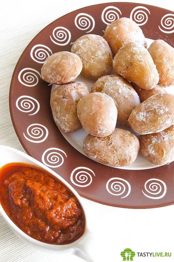 Картофель по-канарски | papas arrugadas