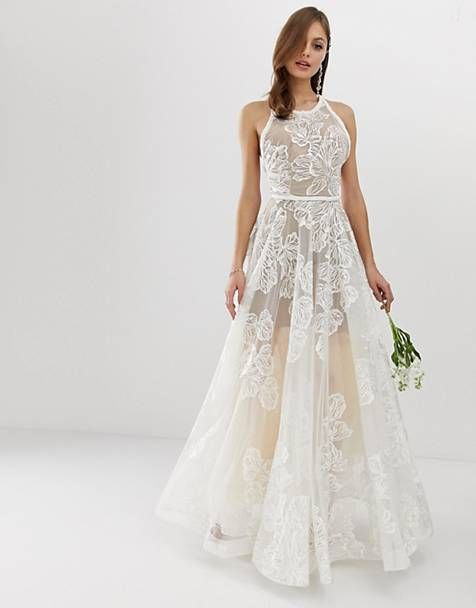5647e116 Bronx & Banco exclusive Fiora embellished bridal gown | ELOPE INSPO ...