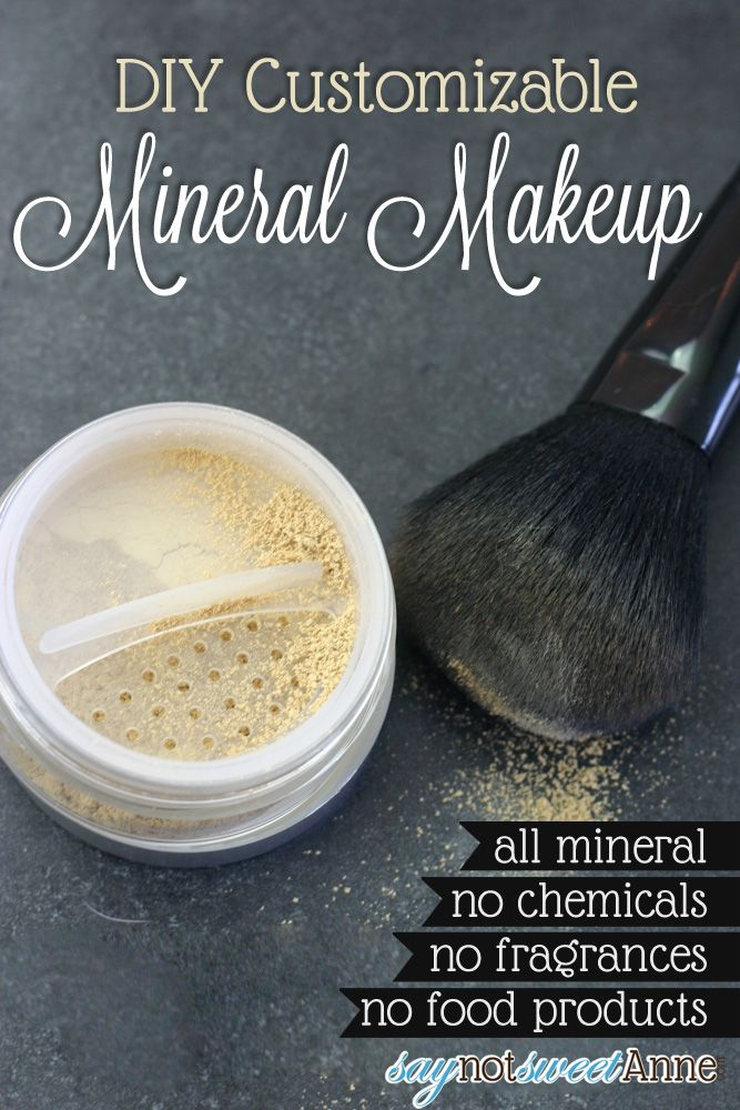 How to Make Beautiful DIY Mineral Makeup Diy cosmetics