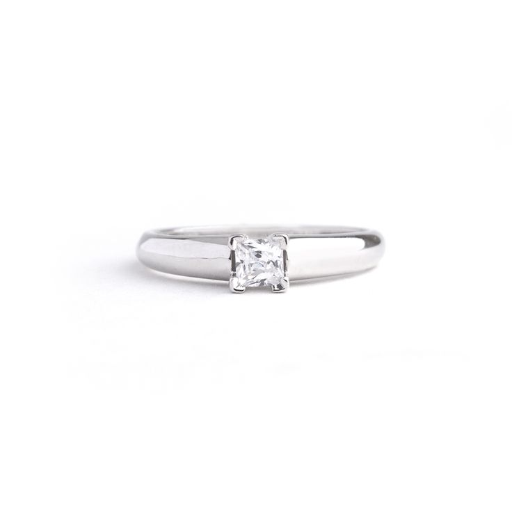 9ct White Gold Ring 0.25ct