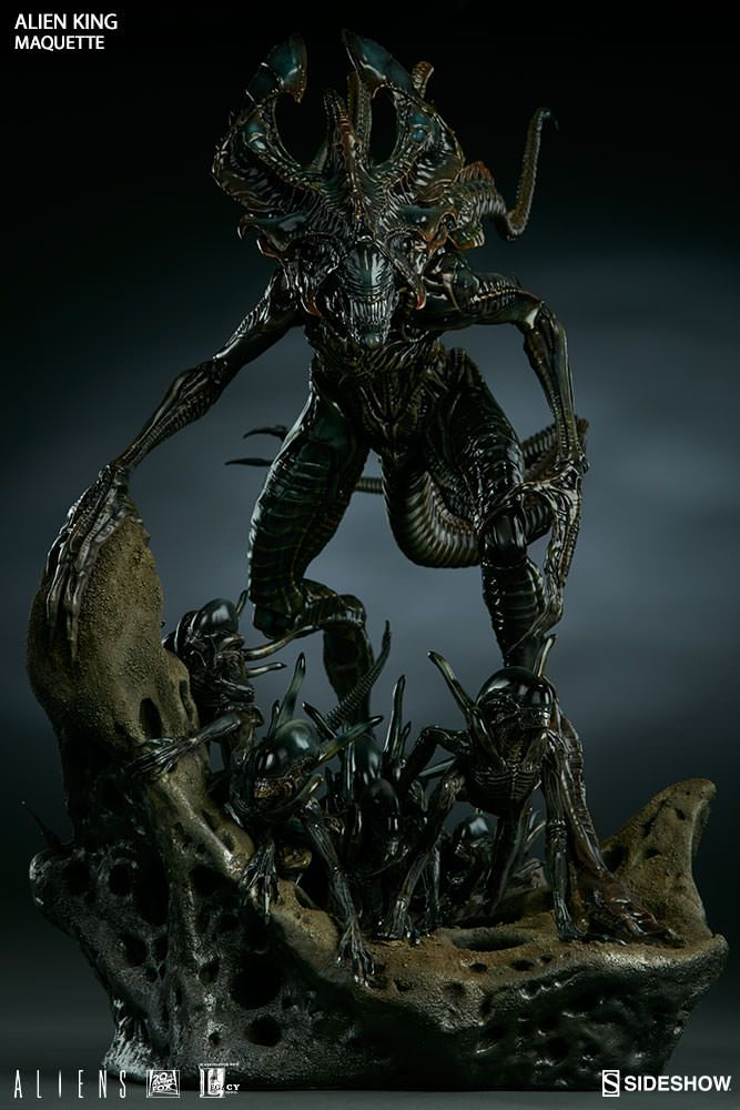 Sideshow Collectibles new Alien King statue